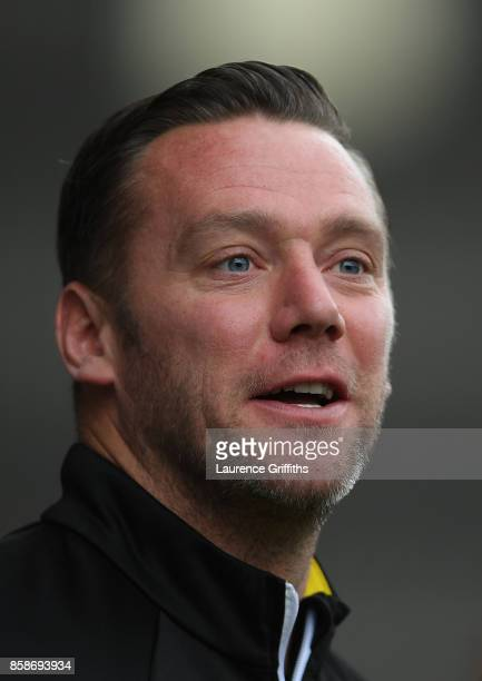 Kevin Nolan of Notts County looks on during the Sky Bet League Two match between Notts County and Forest Green Rovers at Meadow Lane on October 7...
