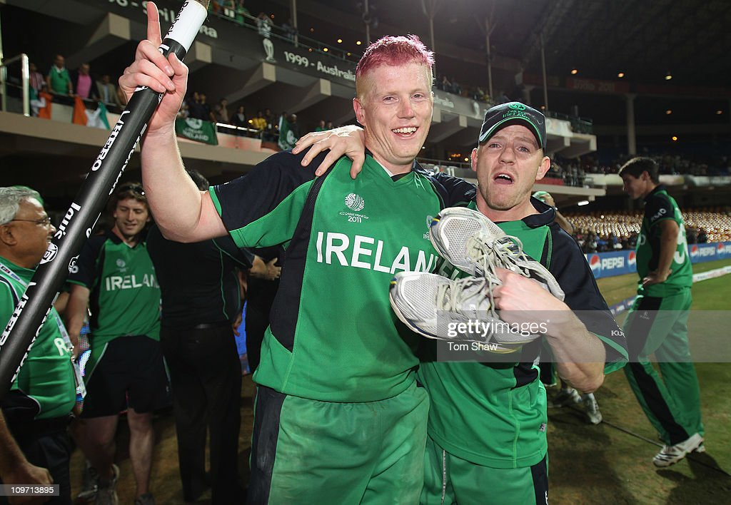 England v Ireland: Group B - 2011 ICC World Cup : News Photo