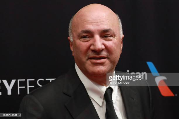 Kevin O'Leary at The Paley Center for Media on October 14 2018 in New York City