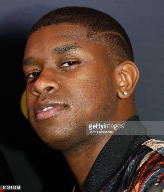 Kevin Olusola of the Pentatonix attends 2018 Billboard Power 100 List at Nobu 57 on January 25 2018 in New York City