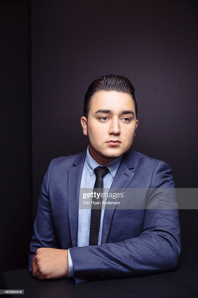 Kevin Ortiz poses for a portraits at the 2015 Billboard Latin Music Conference for Billboard Magazine on April 29, 2015 in Miami, Florida.