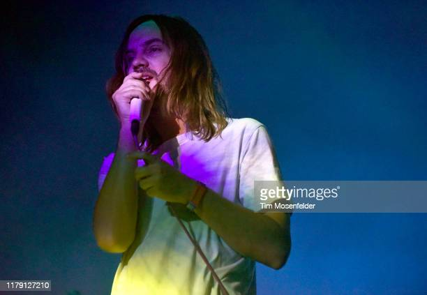 Kevin Parker of Tame Impala performs during the ACL Music Festival 2019 at Zilker Park on October 04 2019 in Austin Texas