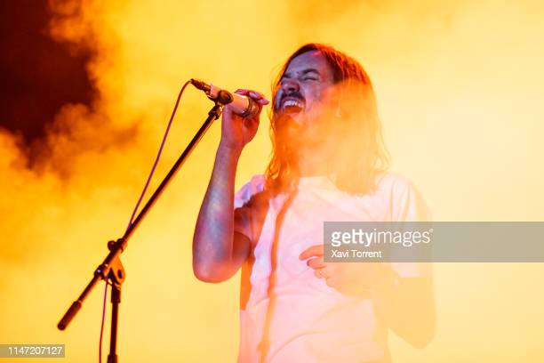 Kevin Parker of Tame Impala performs in concert during Primavera Sound on May 31 2019 in Barcelona Spain