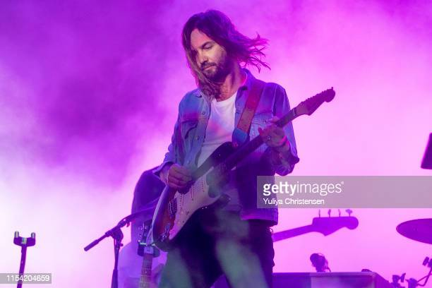 Kevin Parker of Tame Impala performs onstage at the Northside Festival on June 06 2019 in Aarhus Denmark