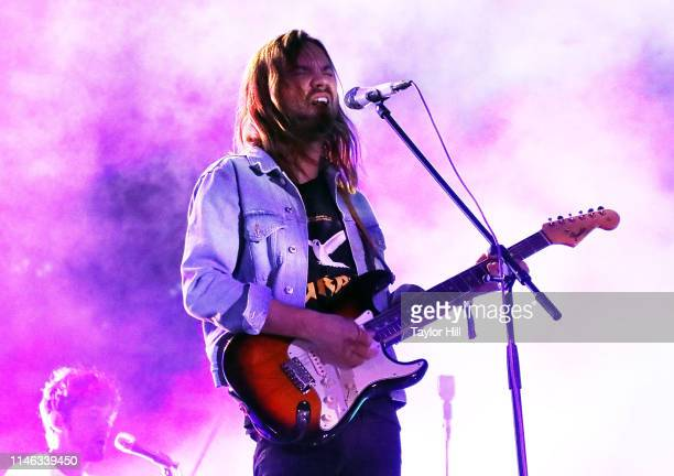Kevin Parker of Tame Impala performs onstage during Day 2 of 2019 Boston Calling Music Festival on May 25 2019 in Boston Massachusetts