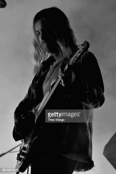 Kevin Parker of Tame Impala performs onstage during the 2017 Panorama Music Festival Day 2 at Randall's Island on July 29 2017 in New York City