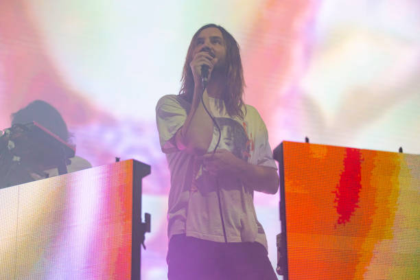 AUS: Tame Impala Sound System Performs In Perth