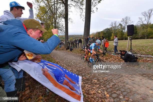 Kevin Pauwels of Belgium and Marlux Bingoal Cycling Team / Fans / Public / during the 29th Koppenbergcross 2018 / DVV Verzekeringen Trofee / on...