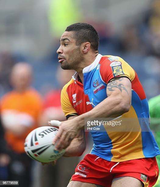 Kevin Penny of Harlequins during the Engage Rugby Super League Magic Weekend match between Hull FC and Harlequins at Murrayfield on May 1 2010 in...