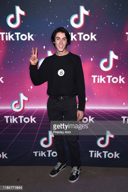 Kevin Perry attends TikTok Halloween Party on October 31 2019 in Los Angeles California