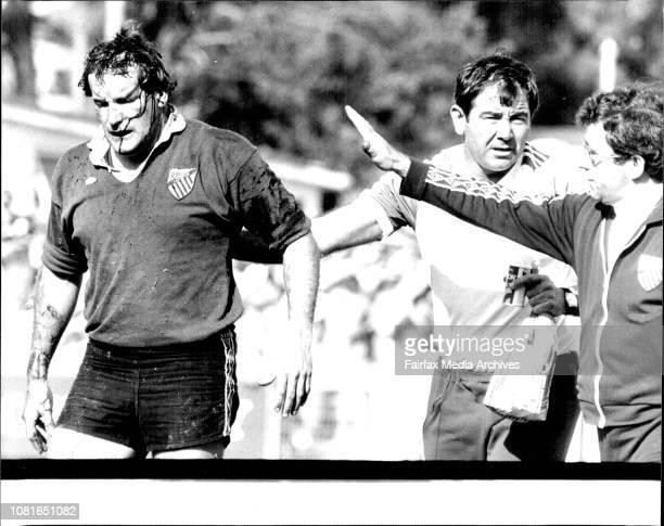 Kevin Phibbs RU at Millner Field Randwick V Gordon September 12 1981