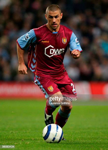 Kevin Phillips of Aston Villa during the Barclays Premiership match between Manchester City and Aston Villa on October 31 2005 at The City of...