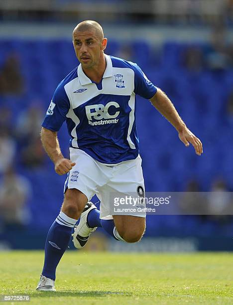Kevin Phillips of Birmingham City in action during the Pre Season Friendly between Birmingham City and Sporting Girgon at St Andrews Stadium on...