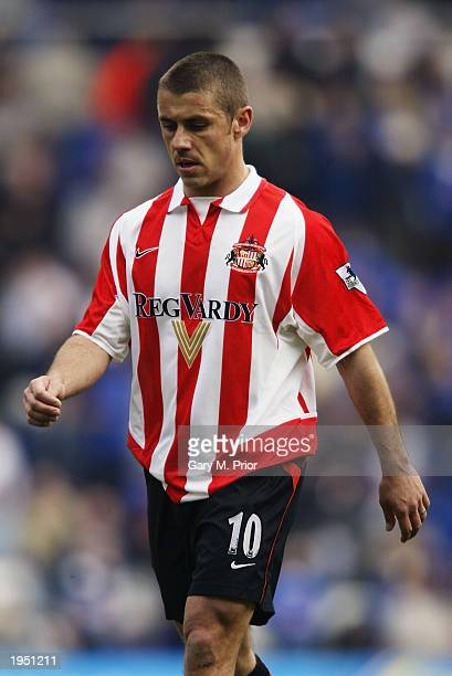 Kevin Phillips of Sunderland during the FA Barclaycard Premiership match between Birmingham City and Sunderland held on April 12 2003 at St Andrews...