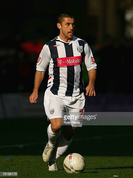 Kevin Phillips of West Bromwich Albion in action during the FA Cup sponsored by EON Fourth Round match between Wolverhampton Wanderers and West...