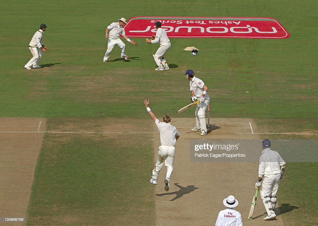 England v Australia, 5th Test, The Oval, Sep 05 : News Photo