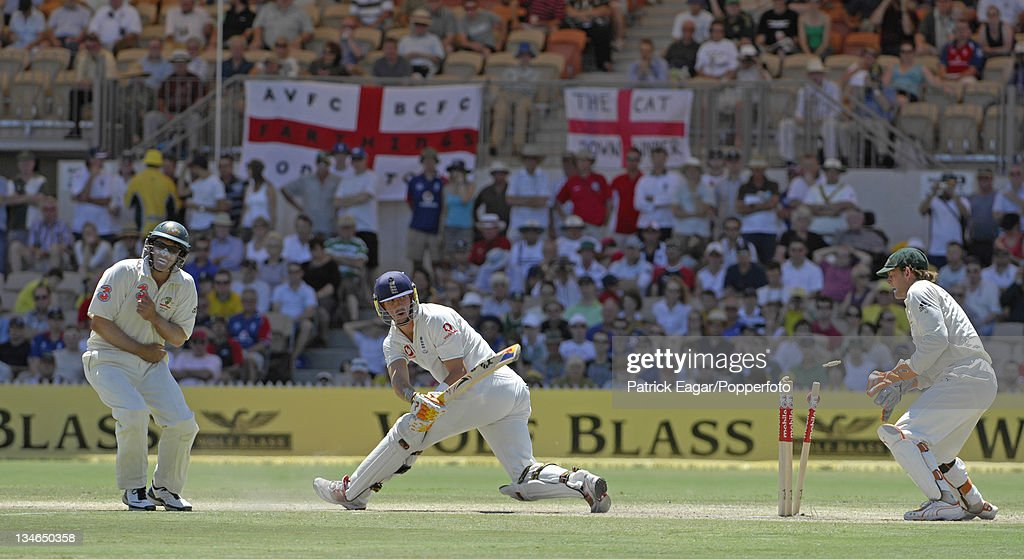 Australia v England, 2nd Test, Adelaide, Dec 06 : News Photo