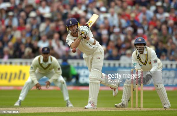Kevin Pietersen of England in action during the second day of the 2nd Npower Test Match between England and Sri Lanka at Edgbaston in Birmingham,...