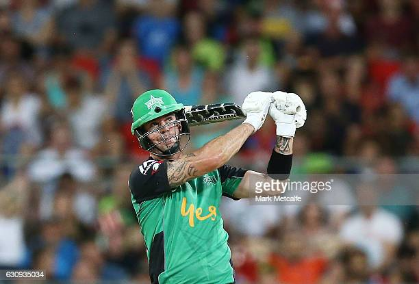 Kevin Pietersen of the Stars bats during the Big Bash League match between the Sydney Thunder and Melbourne Stars at Spotless Stadium on January 4...