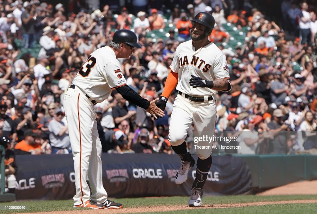 Colorado Rockies v San Francisco Giants : News Photo