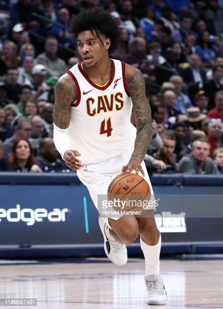 Kevin Porter Jr. #4 of the Cleveland Cavaliers at American Airlines Center on November 22, 2019 in Dallas, Texas. NOTE TO USER: User expressly...