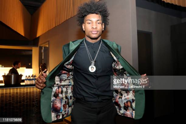 Kevin Porter Jr poses for a photo before the 2019 NBA Draft on June 20 2019 at the Barclays Center in Brooklyn New York NOTE TO USER User expressly...