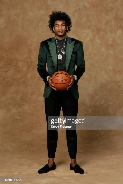 Kevin Porter Jr poses for a portrait after being drafted at the 2019 NBA Draft on June 20 2019 at Barclays Center in Brooklyn New York NOTE TO USER...