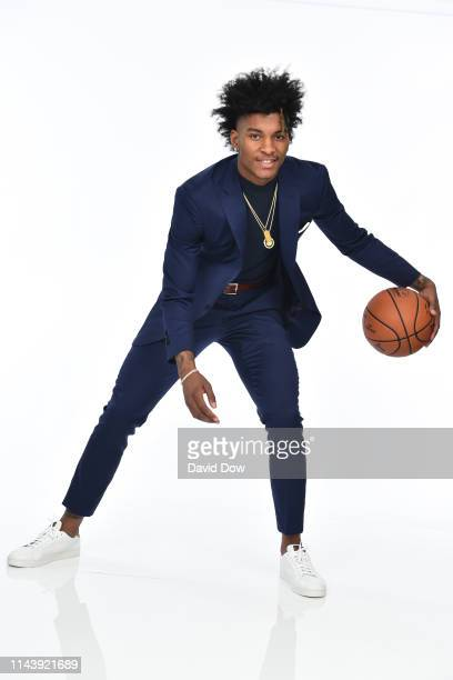 Kevin Porter Jr poses for a portrait at the 2019 NBA Draft Lottery on May 14 2019 at the Chicago Hilton in Chicago Illinois NOTE TO USER User...