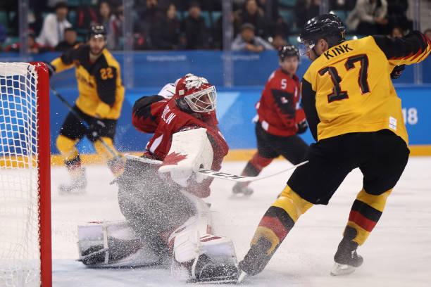 Znalezione obrazy dla zapytania pyeongchang 2018 ice hockey germany canada semifinal