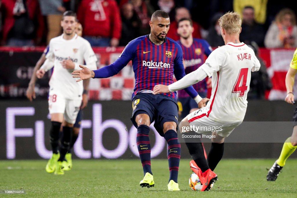 Sevilla v FC Barcelona - Spanish Copa del Rey : News Photo