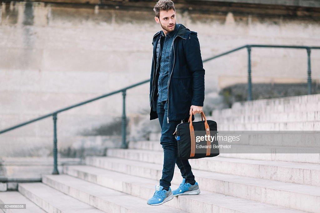 Street Style - Paris - November 2016 : Photo d'actualité