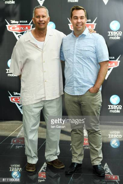 Kevin Reher and Brian Fee attend the 'CARS 3' Charity Gala Screening at Vue Westfield on July 9 2017 in London England