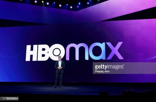 Kevin Reilly Content Officer of HBO Max and President of TNT TBS TruTV speaks onstage at HBO Max WarnerMedia Investor Day Presentation at Warner Bros...