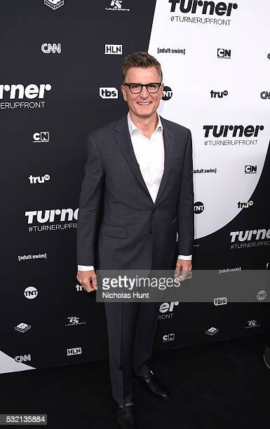 Kevin Reilly President of TBS TNT Chief Creative Officer Turner Entertainment attends Turner Upfront 2016 arrivals at The Theater at Madison Square...