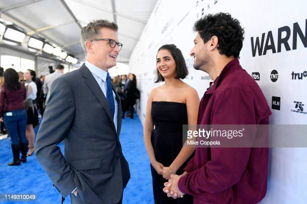 Kevin Reilly President TBS/TNT and Chief Creative Officer WarnerMedia DirecttoConsumer Geraldine Viswanathan and Karan Soni of TBS's Miracle Workers...