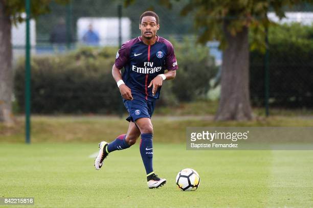 Kevin Remanaho of Paris Saint Germain during the National 2 match between Paris Saint Germain B and Chasselay on September 2nd 2017 in Paris France