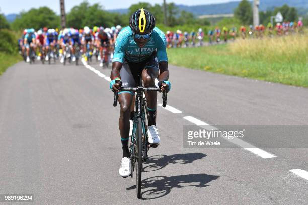 Kevin Reza of France and Team Vital Concept Club / during the 70th Criterium du Dauphine 2018 Stage 4 a 181km stage from ChazeysurAin to...