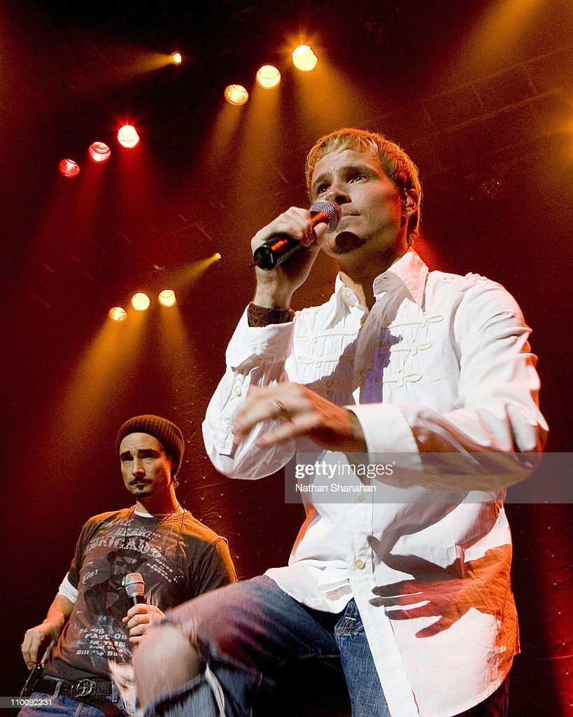 Kevin Richardson Makes a Surprise Appearance at Brian Littrell's Concert in Tokyo : News Photo