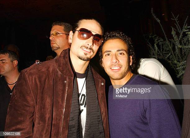 Kevin Richardson and Howie Dorough from Backstreet Boys