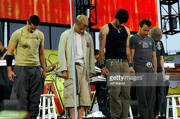 Kevin Richardson Brian Littrell AJ McLean Howie Dorough and Nick Carter of the Backstreet Boys