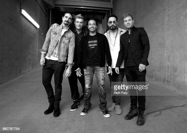 Kevin Richardson Nick Carter Howie Dorough AJ McLean and Brian Littrell of Backstreet Boys attend 1027 KIIS FM's 2017 Wango Tango at StubHub Center...