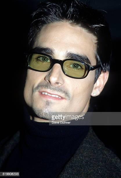Kevin Richardson of Backstreet Boys at VH1 Fashion awards New York October 23 1998