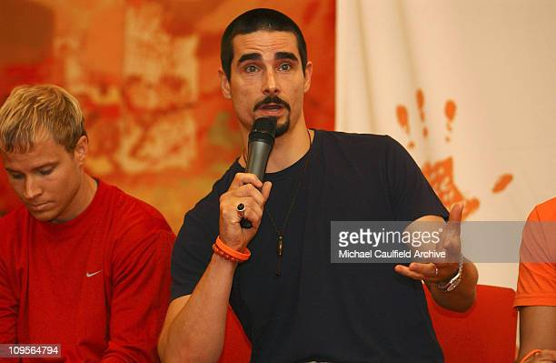Kevin Richardson of Backstreet Boys during Force of Nature Concert for Tsunami Aid - Press Conference - March 17, 2005 at Mandarin Oriental Hotel in...