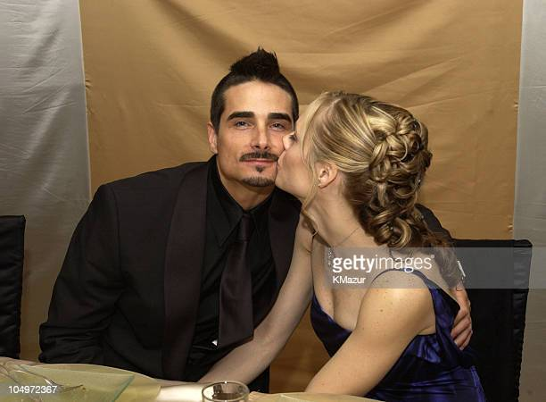 Kevin Richardson of Backstreet Boys during The 10th Annual Elton John AIDS Foundation InStyle Party Inside at Moomba Restaurant in Hollywood...