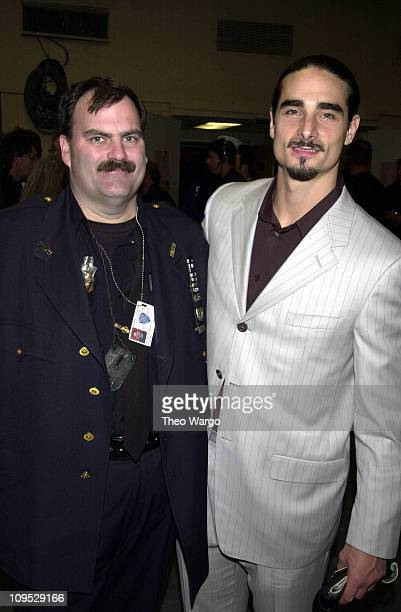 Kevin Richardson of the Backstreet Boys and police officer