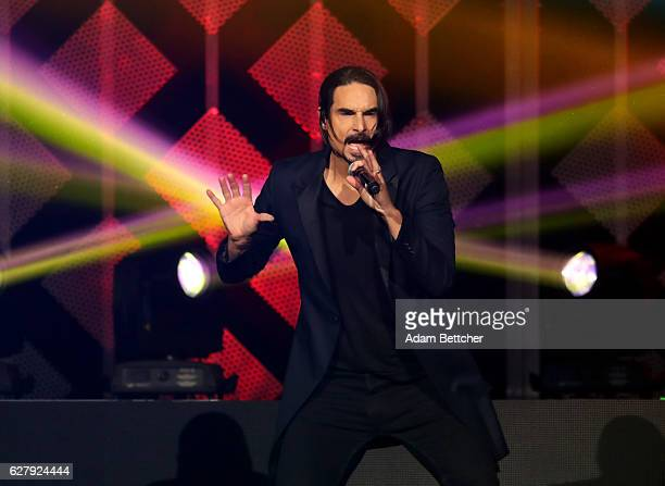 Kevin Richardson of the Backstreet boys performs onstage during 1013 KDWB's Jingle Ball 2016 presented by Capital One at Xcel Energy Center on...