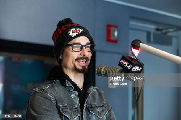 Kevin Richardson of the Backstreet Boys visits Race Taylor at 955 PLJ on January 26 2019 in New York City