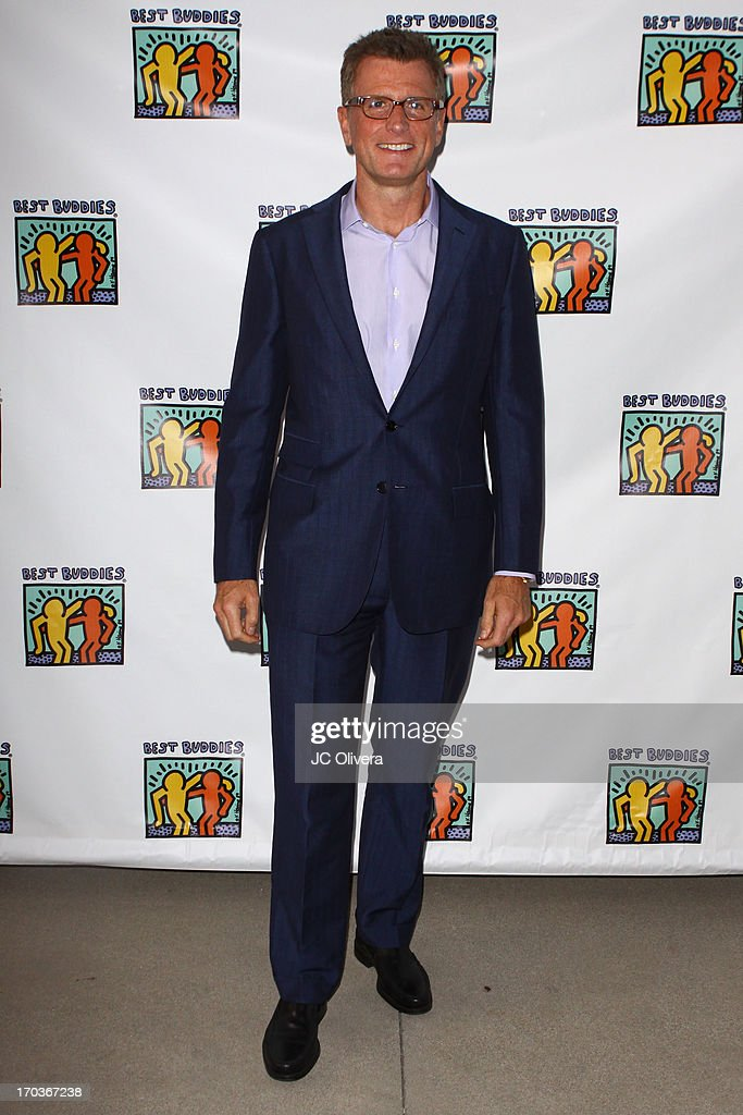 Kevin Riley attends Best Buddies Jobs Vanguard reception at UTA on June 11, 2013 in Beverly Hills, California.
