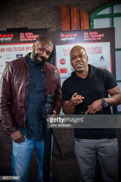Kevin Roberts and 2 $hort attend Young Variety's 12th Annual Pool Tournament benefiting Variety at Fantasia Billiards on February 28 2018 in Burbank...
