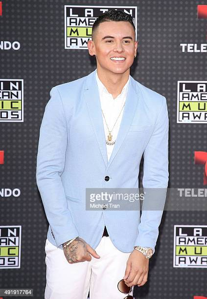 Kevin Roldan arrives at the Latin American Music Awards 2015 held at Dolby Theatre on October 8 2015 in Hollywood California